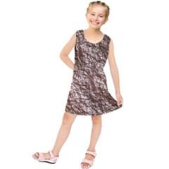 Crumpled Foil 17a Kids  Tunic Dress