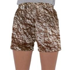 Crumpled Foil 17a Sleepwear Shorts