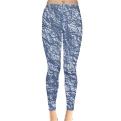 Crumpled Foil 17d Leggings