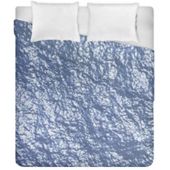 Crumpled Foil 17d Duvet Cover Double Side (california King Size)