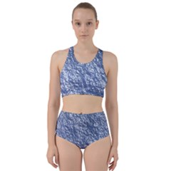Crumpled Foil 17d Bikini Swimsuit Spa Swimsuit