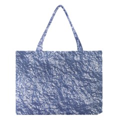 Crumpled Foil 17d Medium Tote Bag