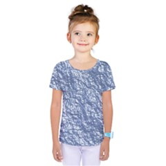 Crumpled Foil 17d Kids  One Piece Tee