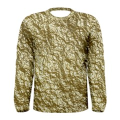 Crumpled Foil 17c Men s Long Sleeve Tee