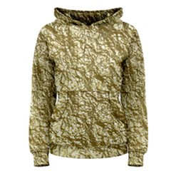 Crumpled Foil 17c Women s Pullover Hoodie