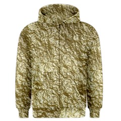 Crumpled Foil 17c Men s Zipper Hoodie