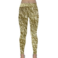 Crumpled Foil 17c Classic Yoga Leggings