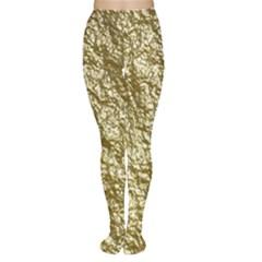 Crumpled Foil 17c Women s Tights