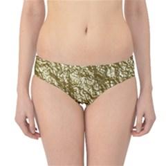 Crumpled Foil 17c Hipster Bikini Bottoms