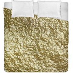 Crumpled Foil 17c Duvet Cover Double Side (king Size)