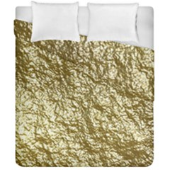 Crumpled Foil 17c Duvet Cover Double Side (california King Size)