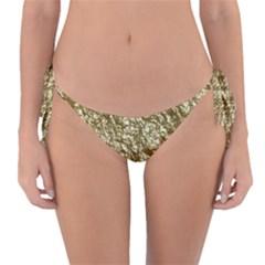 Crumpled Foil 17c Reversible Bikini Bottom