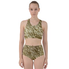 Crumpled Foil 17c Bikini Swimsuit Spa Swimsuit