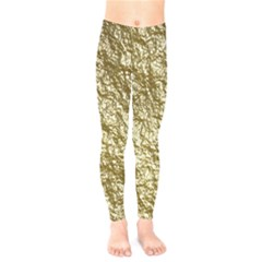 Crumpled Foil 17c Kids  Legging