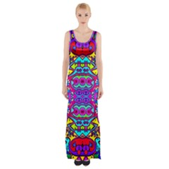Donovan Maxi Thigh Split Dress