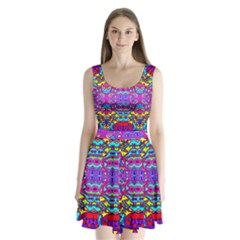 Donovan Split Back Mini Dress