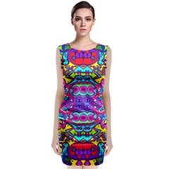 Donovan Sleeveless Velvet Midi Dress