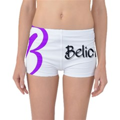 Belicious World  b  Purple Boyleg Bikini Bottoms