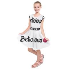 Belicious World Logo Kids  Short Sleeve Dress