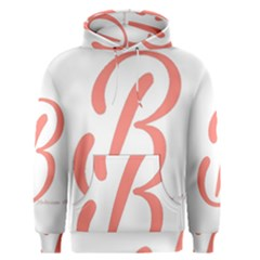 Belicious World  b  In Coral Men s Pullover Hoodie