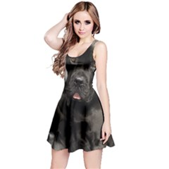 Dogue De Bordeaux Black Puppy Reversible Sleeveless Dress