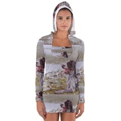 Gwp Laying Long Sleeve Hooded T Shirt
