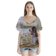 Gwp Laying Flutter Sleeve Top