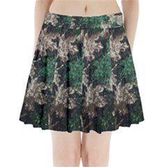 African Sequince Pleated Mini Skirt