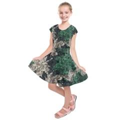 African Sequince Kids  Short Sleeve Dress