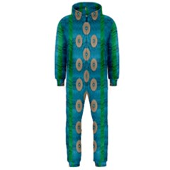 Wood Silver And Rainbows Hooded Jumpsuit (men)