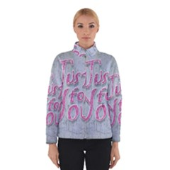 Letters Quotes Grunge Style Design Winterwear