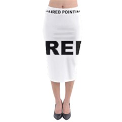 I Love My Wirehaired Pointing Griffon Midi Pencil Skirt