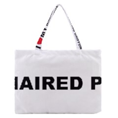 I Love My Wirehaired Pointing Griffon Medium Zipper Tote Bag