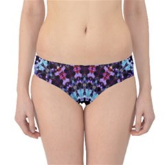 Kaleidoscope Mandala Purple Pattern Art Hipster Bikini Bottoms