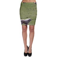 Great Pyrenees Working Bodycon Skirt