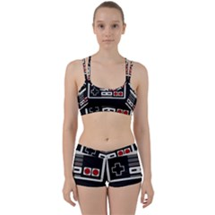 Video Game Controller 80s Women s Sports Set