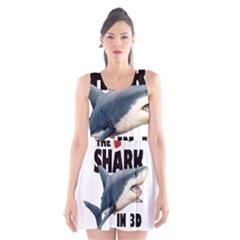 The Shark Movie Scoop Neck Skater Dress