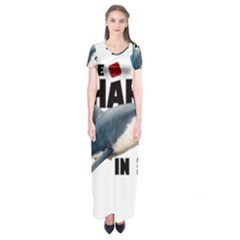 The Shark Movie Short Sleeve Maxi Dress