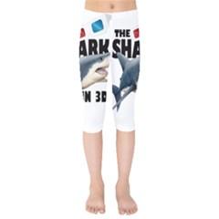 The Shark Movie Kids  Capri Leggings