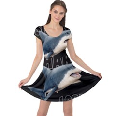 The Shark Movie Cap Sleeve Dress