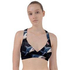 The Shark Movie Sweetheart Sports Bra