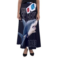 The Shark Movie Flared Maxi Skirt