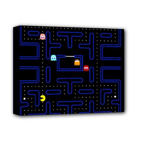 Pac Man Deluxe Canvas 14  X 11