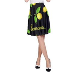 When Life Gives You Lemons A Line Skirt