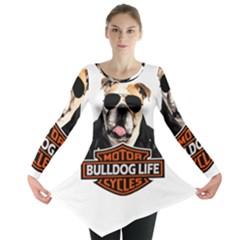 Bulldog Biker Long Sleeve Tunic
