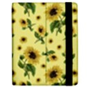 Sunflowers pattern Apple iPad Mini Flip Case View2