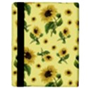 Sunflowers pattern Apple iPad Mini Flip Case View3