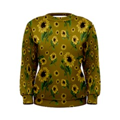 Sunflowers Pattern Women s Sweatshirt