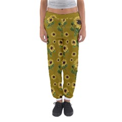 Sunflowers Pattern Women s Jogger Sweatpants