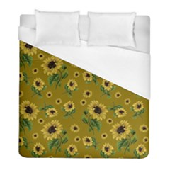 Sunflowers Pattern Duvet Cover (full/ Double Size)